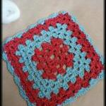 Granny square washcloth